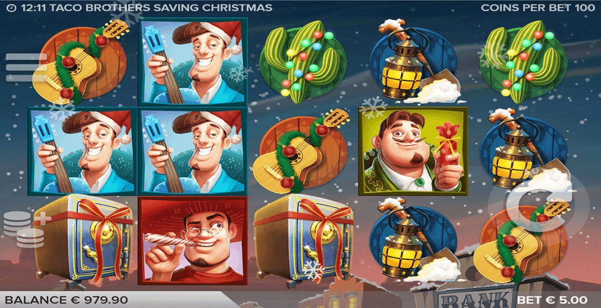 Saving Christmas.Taco Brothers Saving Christmas Slot Machine Online ᐈ Elk
