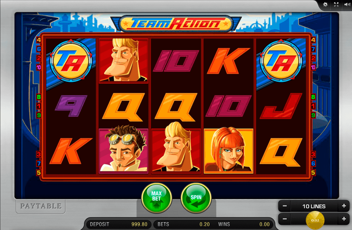 Action Slots - Play Free Online Slot Machines in Action Theme