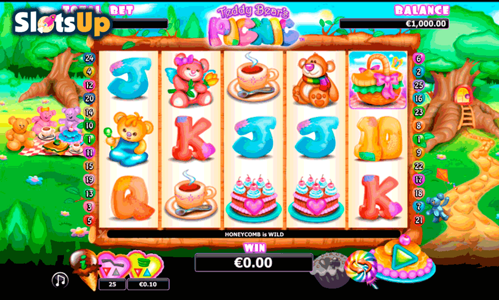 Teddy bears Picnic Slot Machine Online ᐈ NextGen Gaming™ Casino Slots
