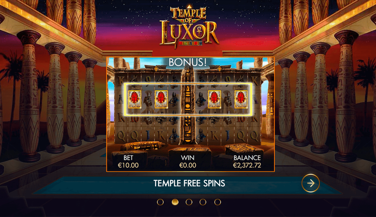 TEMPLE OF LUXOR GENESIS CASINO SLOTS