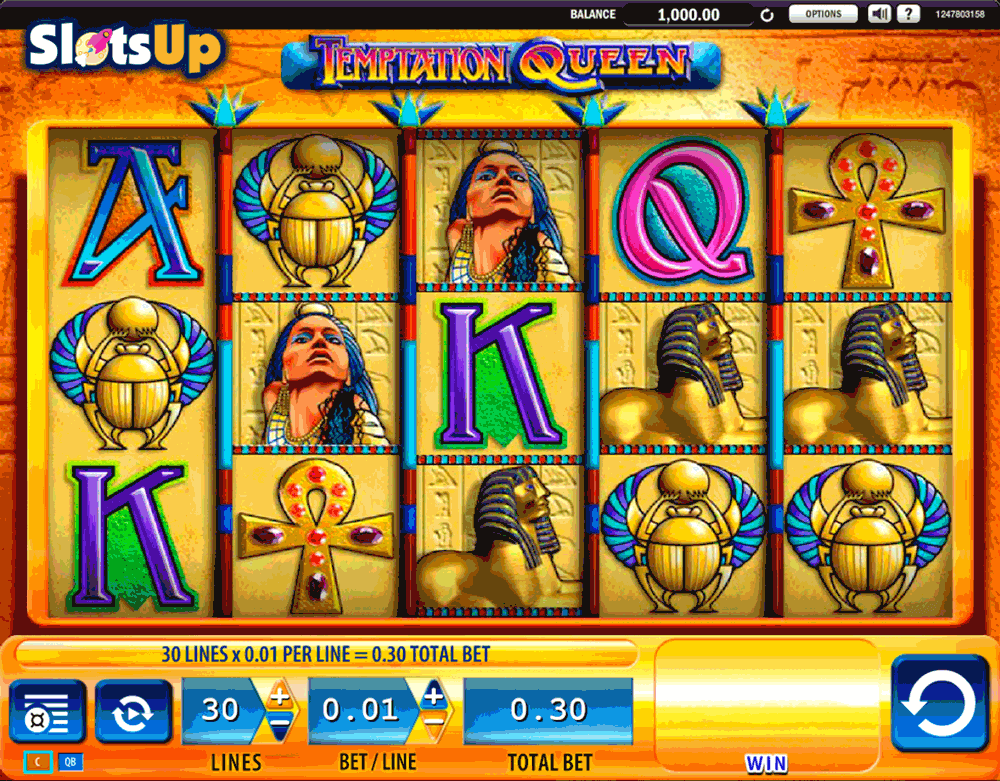temptation queen wms casino slots