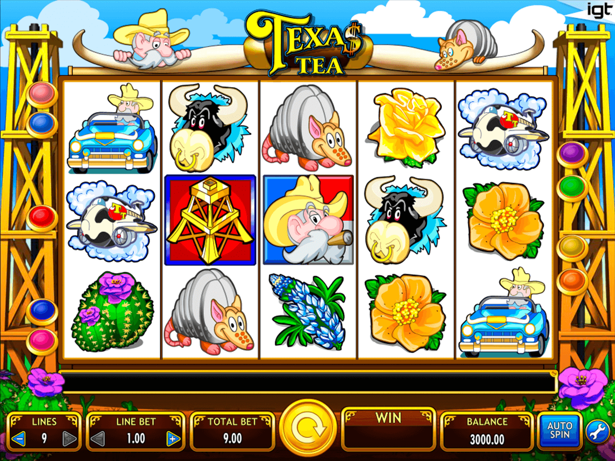 Texas Tea Slots Online and Real Money Casino Play