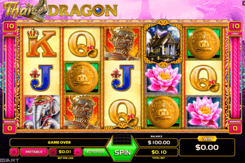 thai dragon gameart slot machine