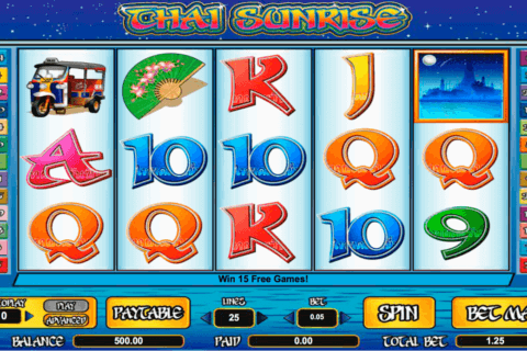 THAI SUNRISE AMAYA CASINO SLOTS
