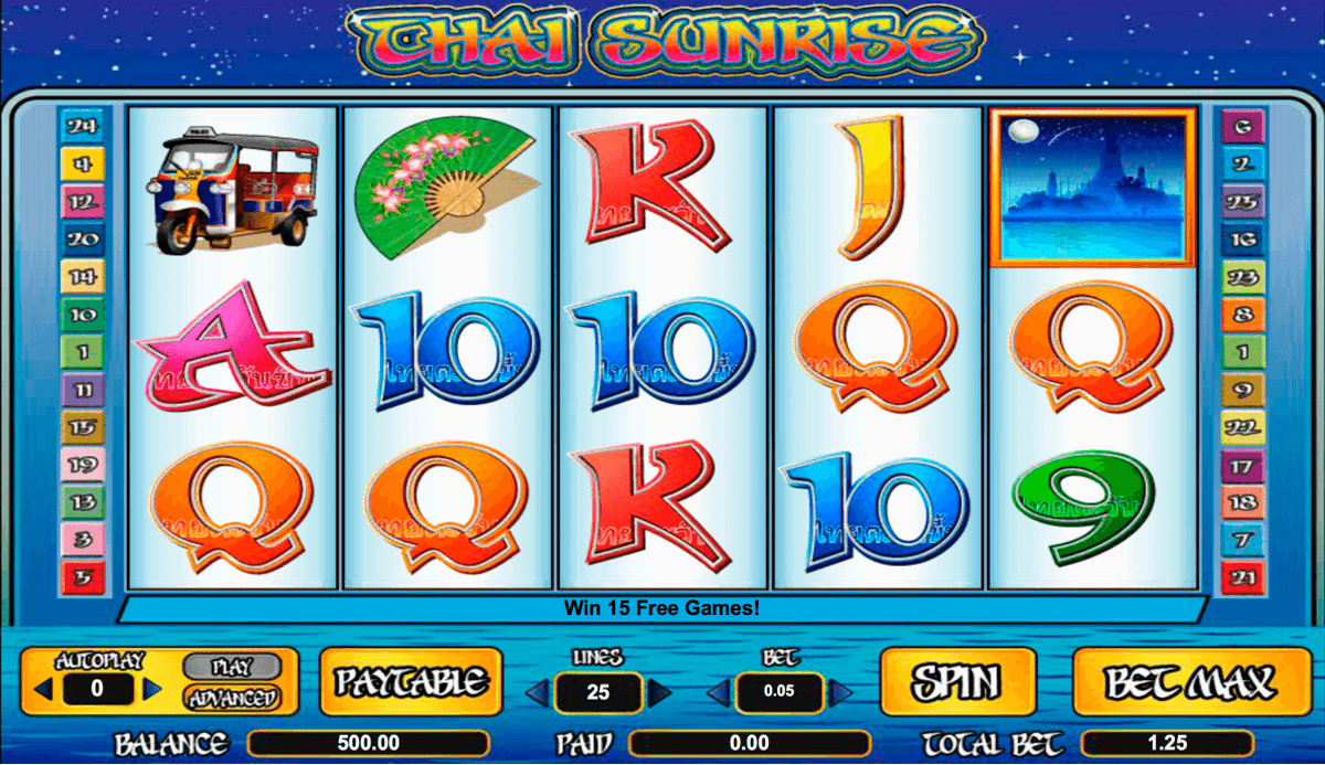 Thai Sunrise Slot Machine Online ᐈ Amaya™ Casino Slots