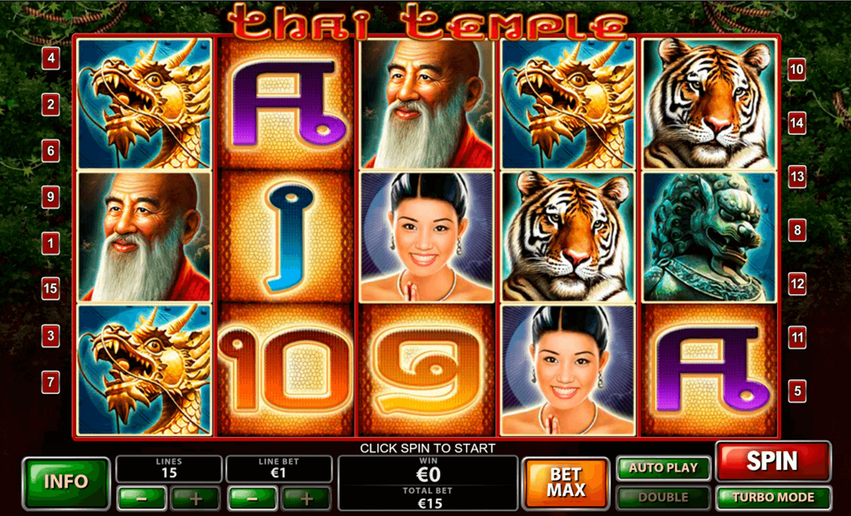Play Thai Temple online slots at Casino.com