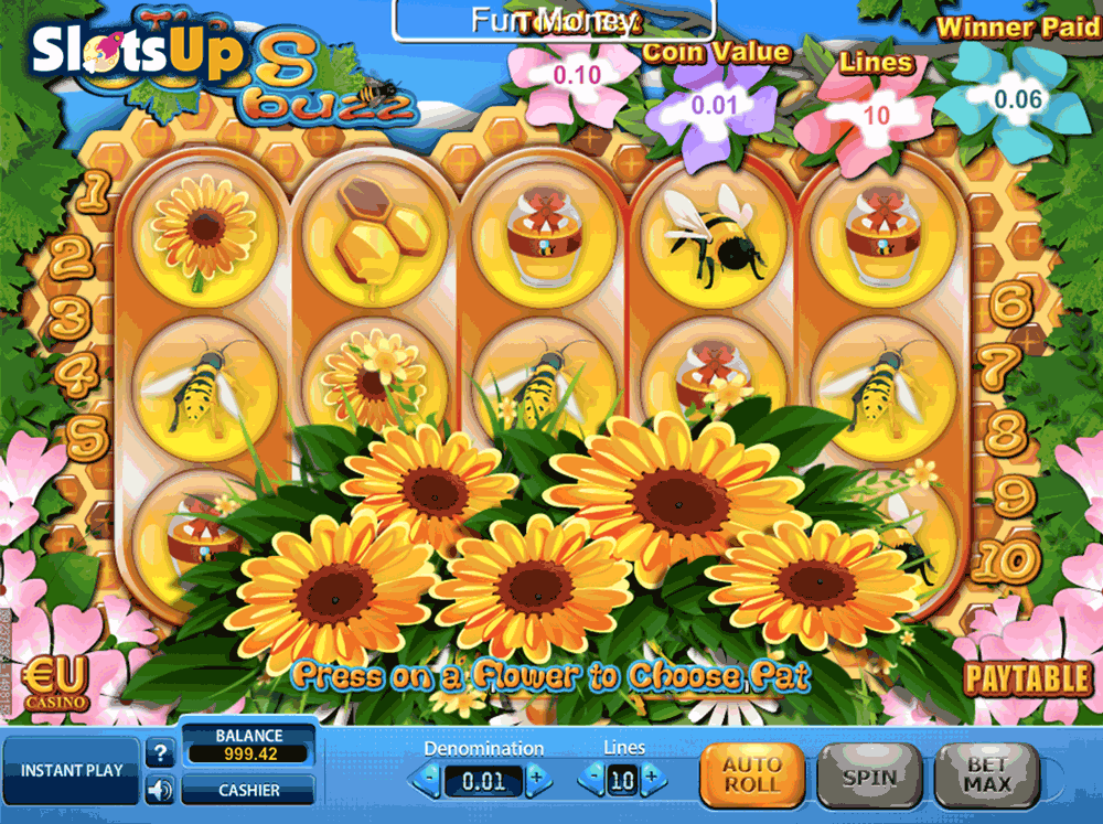 The Bees Buzz Slots - Free Online Casino Game by SkillOnNet