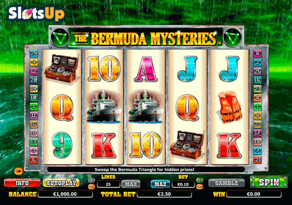 Bermuda Mystery™ Slot Machine Game to Play Free in NextGen Gamings Online Casinos