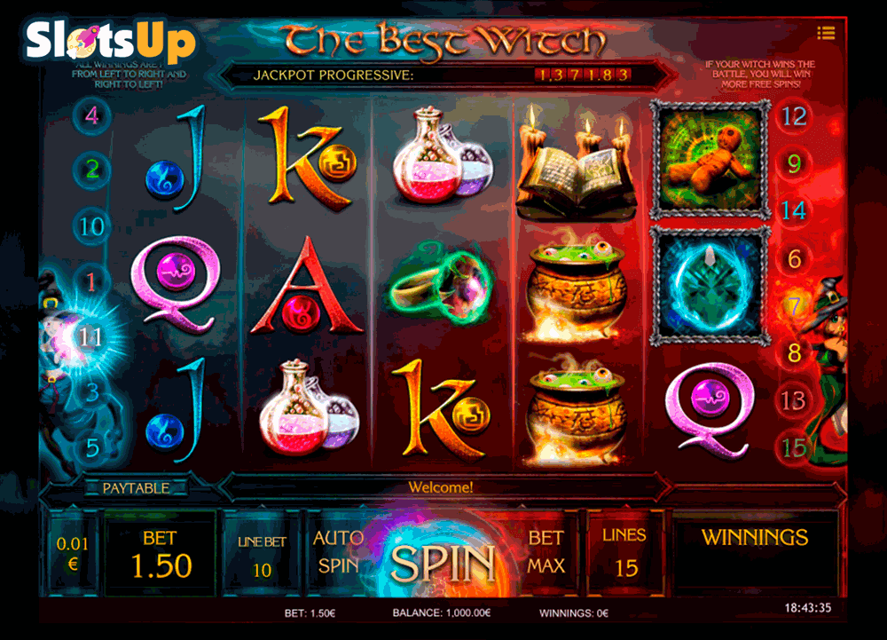 Witches & Wizards Slots - Play Online Slot Machines for Free