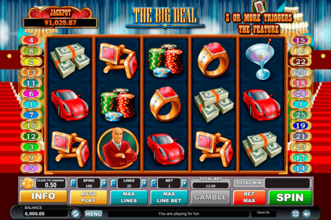 the big deal habanero slot machine