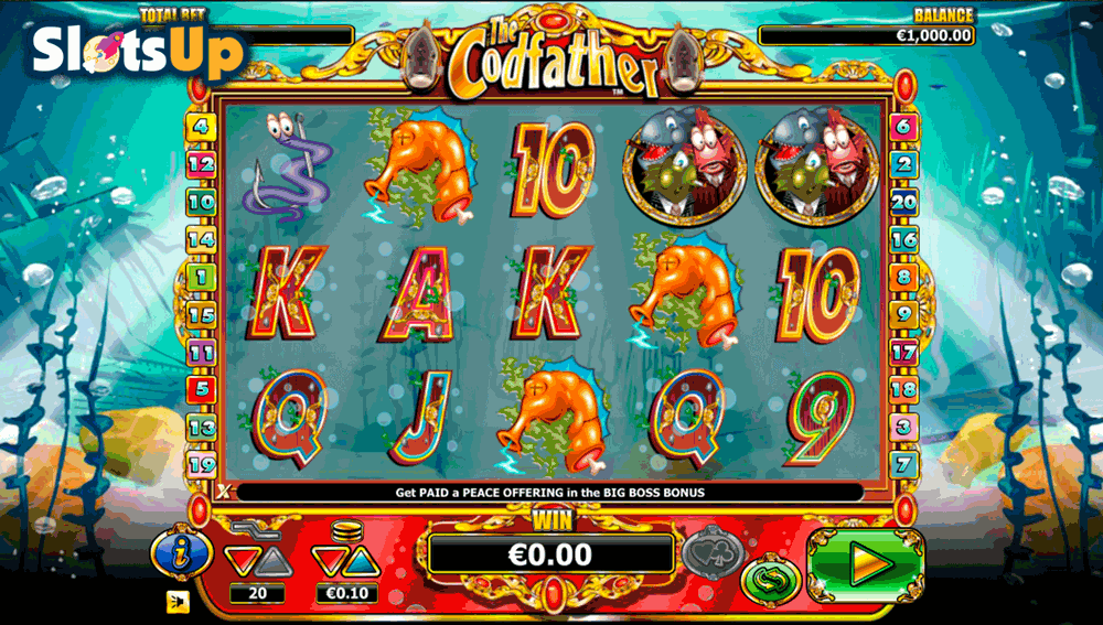 THE CODFATHER NEXTGEN GAMING CASINO SLOTS