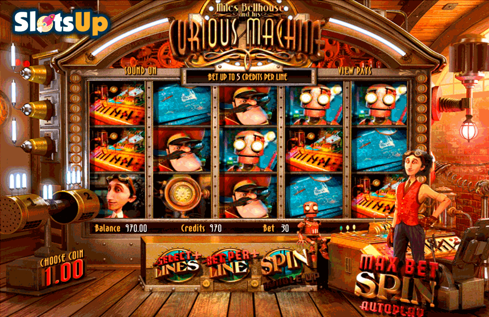 the curious machine betsoft casino slots