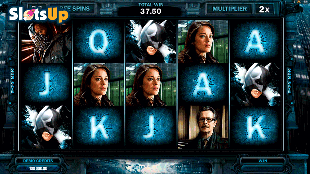 THE DARK KNIGHT RISES MICROGAMING CASINO SLOTS