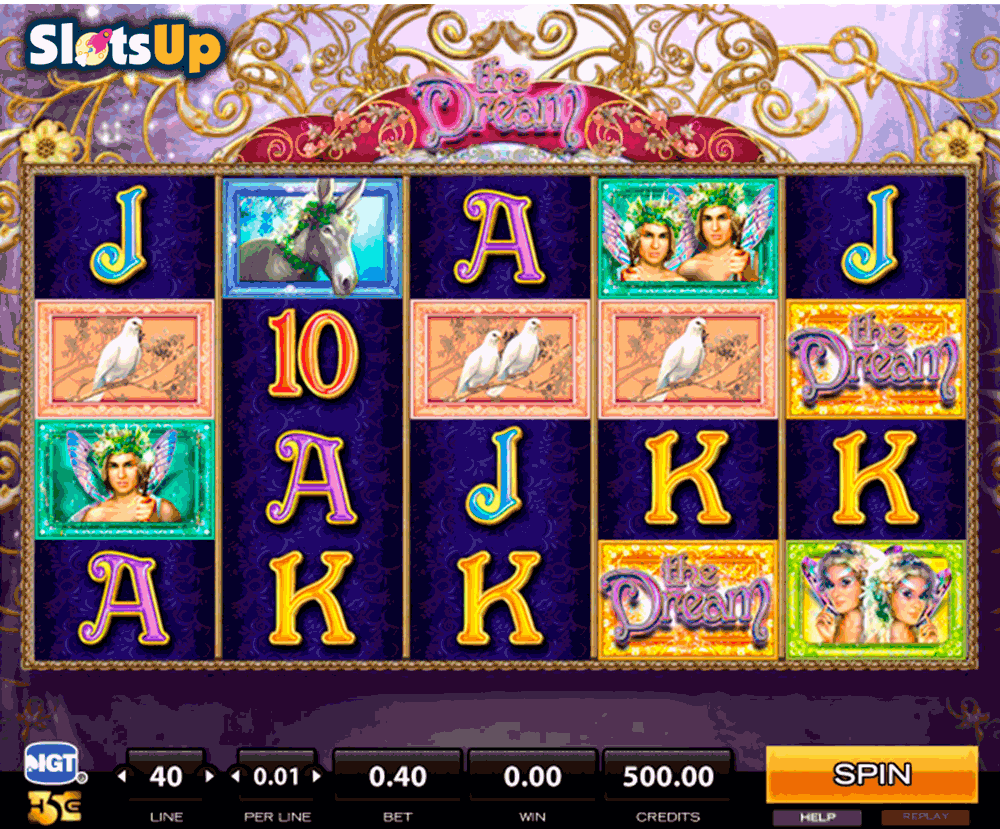 Dreams & Dollars Slot Machine - Review and Free Online Game