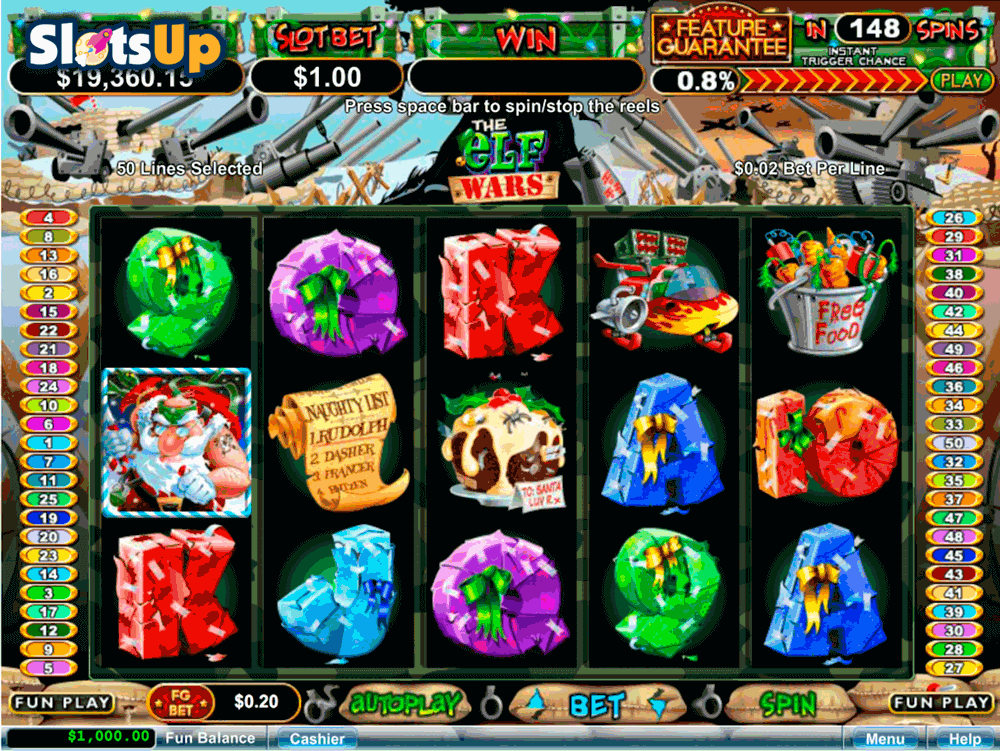 the elf wars rtg casino slots