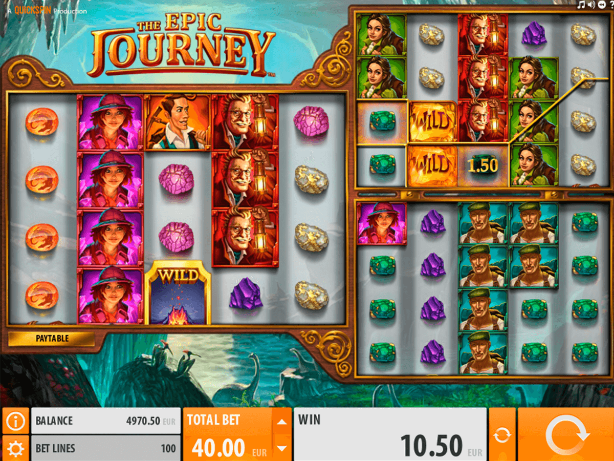 THE EPIC JOURNEY QUICKSPIN CASINO SLOTS