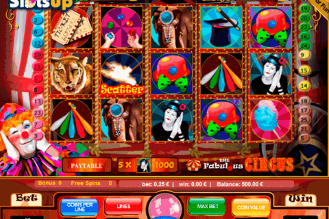 THE FABULOUS CIRCUS PORTOMASO CASINO SLOTS
