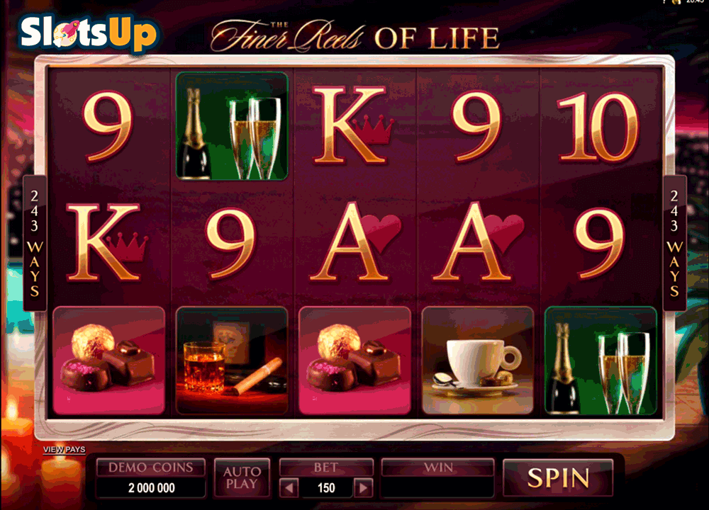 THE FINER REELS OF LIFE MICROGAMING CASINO SLOTS