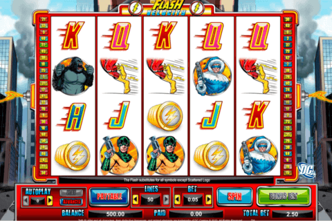 THE FLASH VELOCITY AMAYA CASINO SLOTS