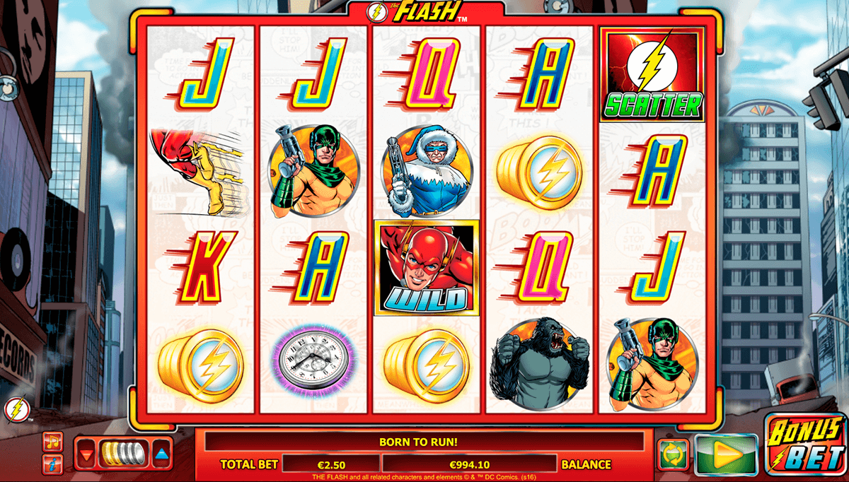 The Flash: Velocity Slot Machine Online ᐈ Amaya™ Casino Slots