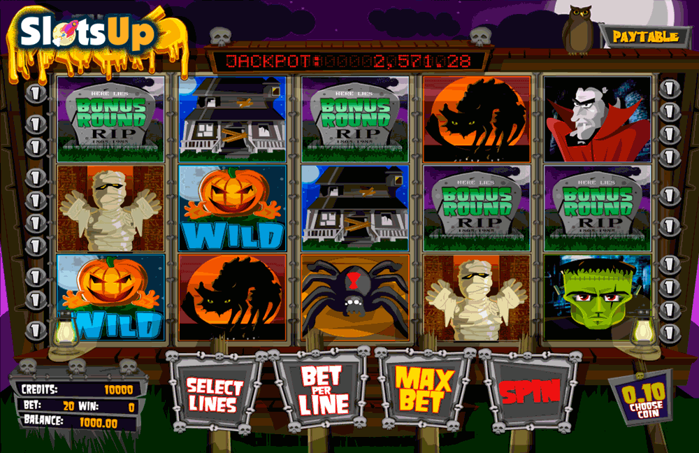 THE GHOULS BETSOFT CASINO SLOTS