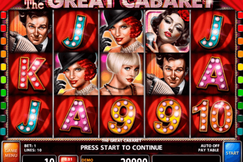 the great cabaret casino technology slot machine