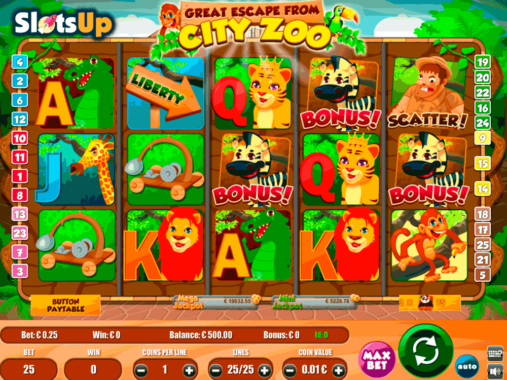 The Great Escape Slot - Play the Online Slot for Free