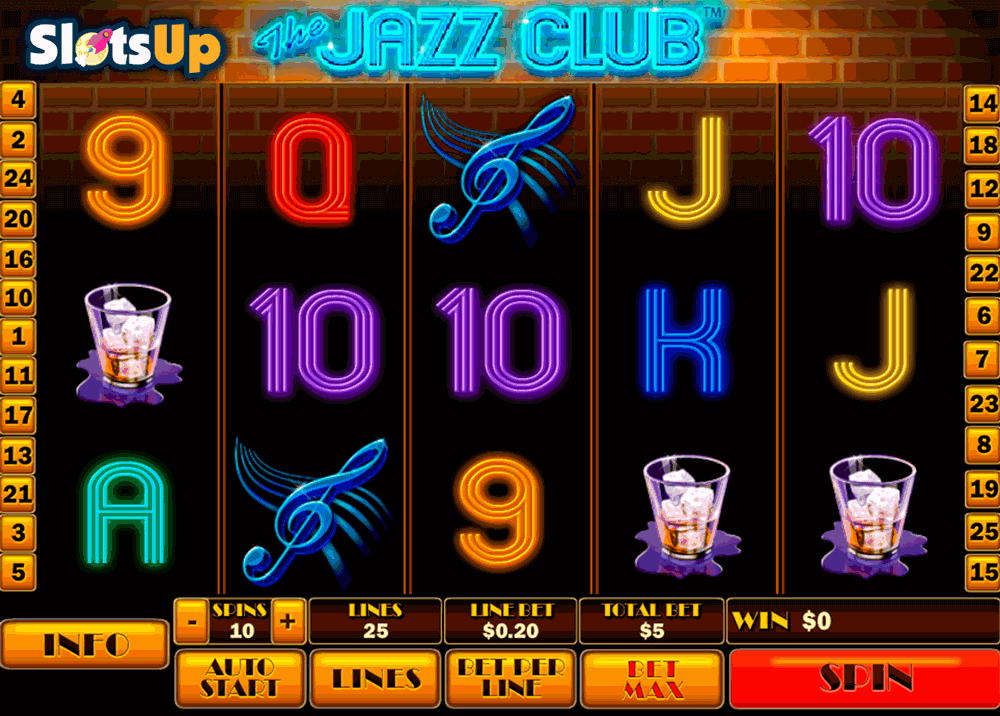 the jazz club playtech casino slots