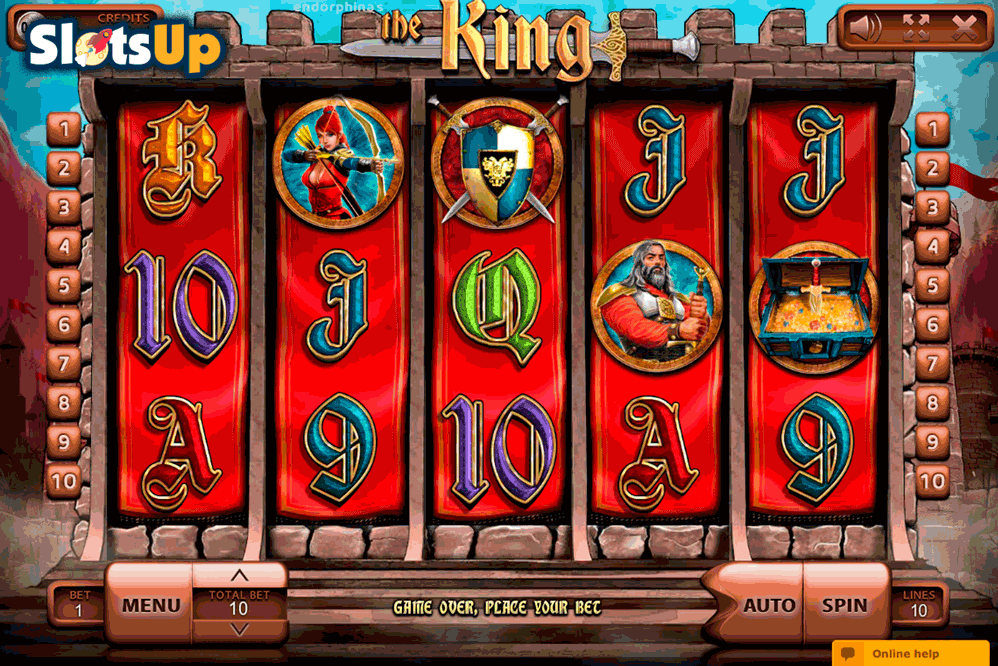 the king endorphina casino slots