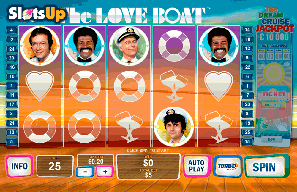 the love boat playtech casino slots