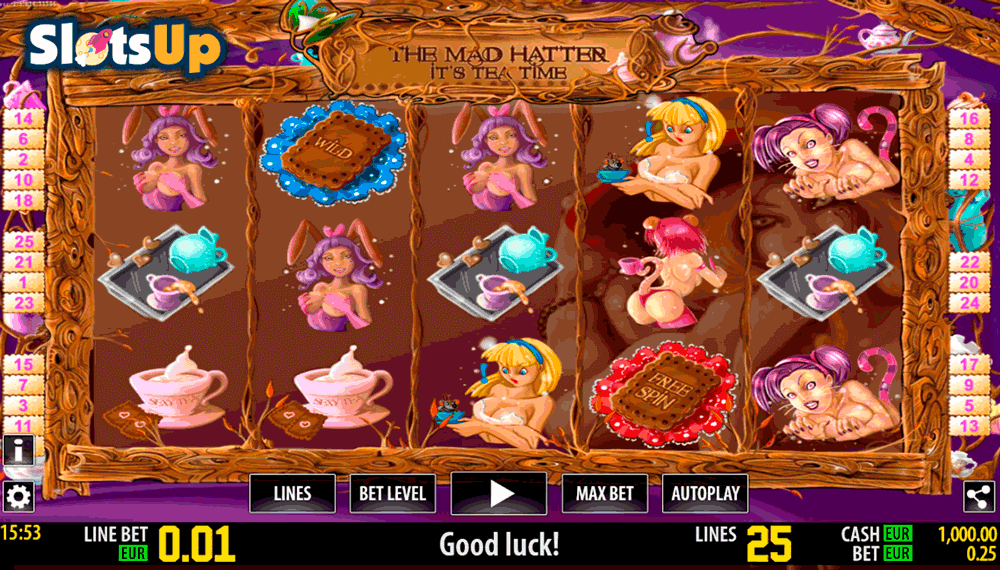 THE MAD HATTER HD WORLD MATCH CASINO SLOTS