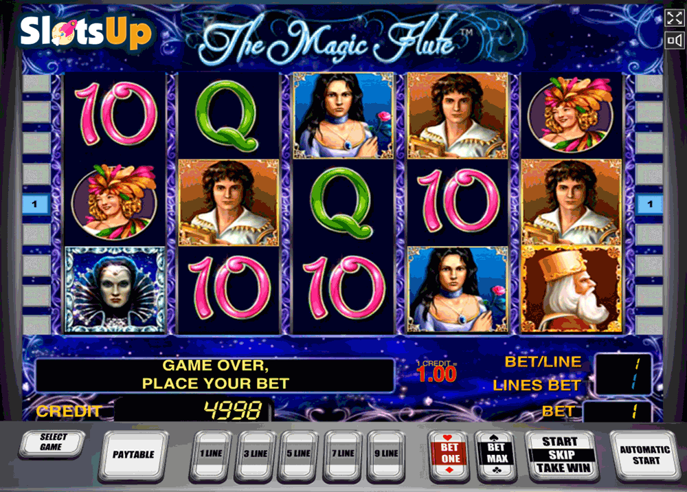 the magic flute novomatic casino slots