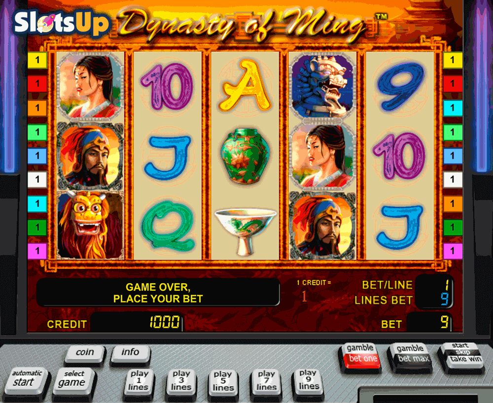 The Ming Dynasty™ Slot Machine Game to Play Free in Novomatics Online Casinos