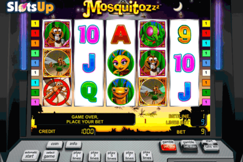 THE MOSQUITOZZZ NOVOMATIC CASINO SLOTS