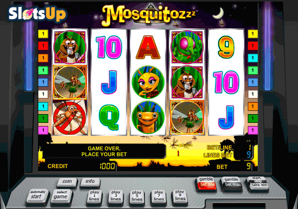 The Mosquitozzz Slot Machine Online ᐈ Novomatic™ Casino Slots