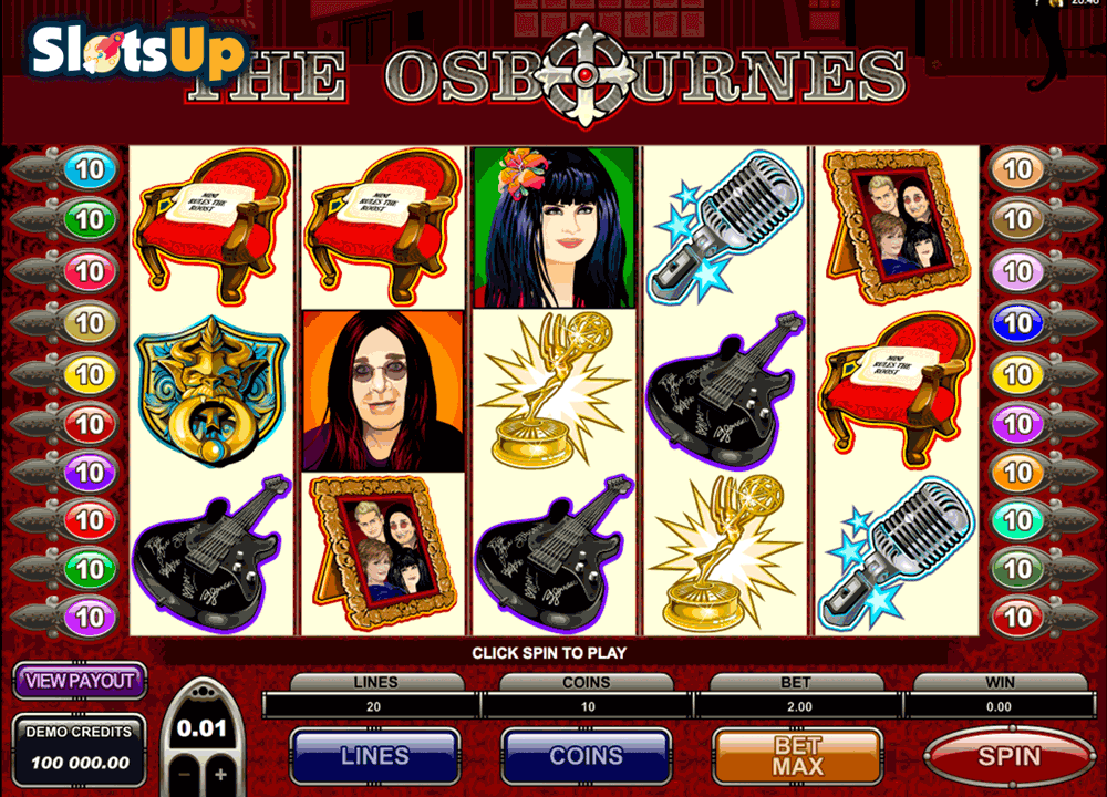 The Osbournes™ Slot Machine Game to Play Free in Microgamings Online Casinos