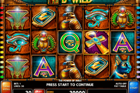 THE POWER OF ANKH CASINO TECHNOLOGY SLOT MACHINE