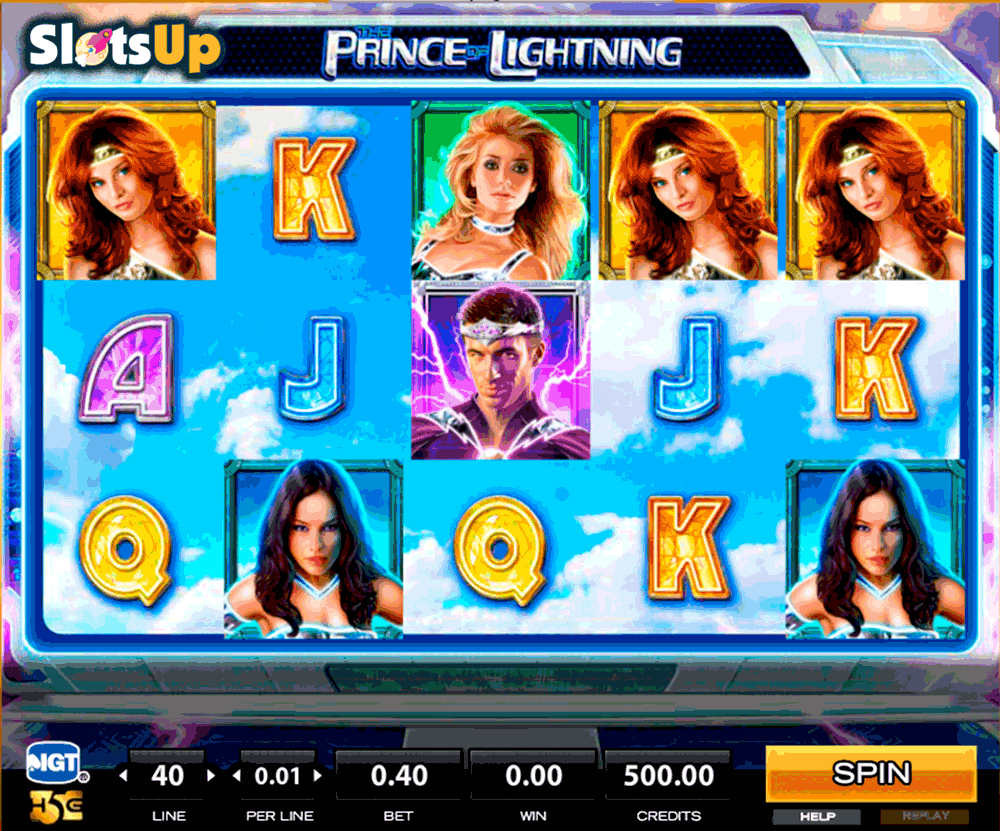 slot machine games online lightning spielen