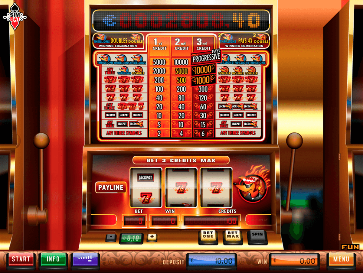 The Red Foxs Double Jackpot Slot Machine Online ᐈ Simbat™ Casino Slots