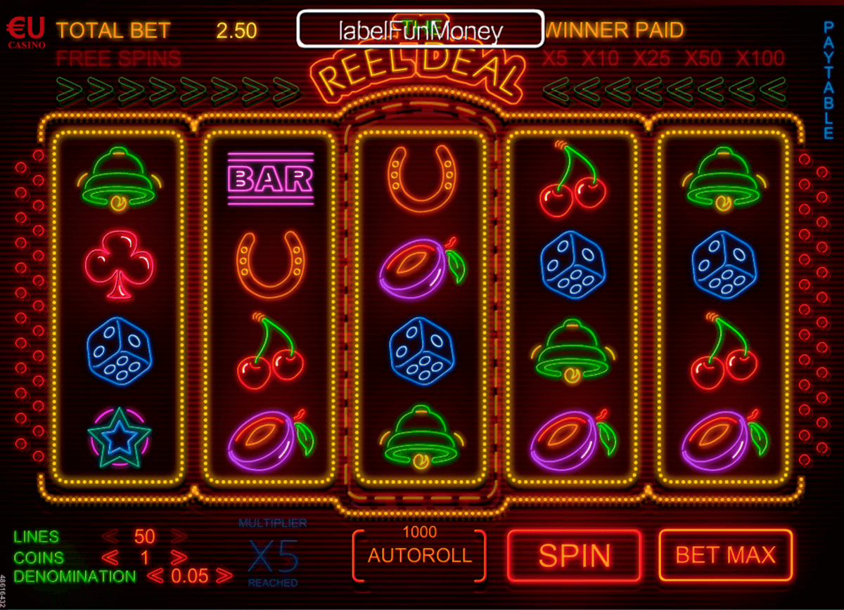 The Reel Deal Slot™ Slot Machine Game to Play Free in WGSs Online Casinos