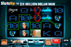 the six million dollar man playtech casino slots