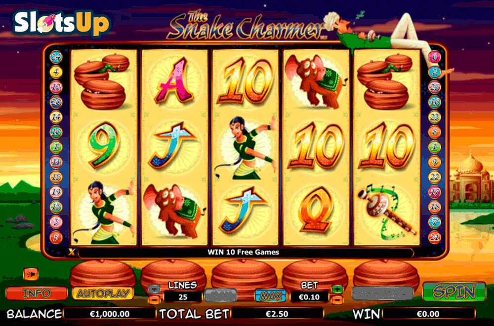 The Snake Charmer Slot Machine – Play for Free or Real Money