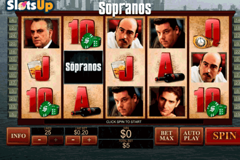 the sopranos playtech casino slots