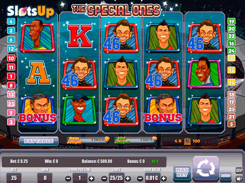 THE SPECIAL ONES PORTOMASO CASINO SLOTS