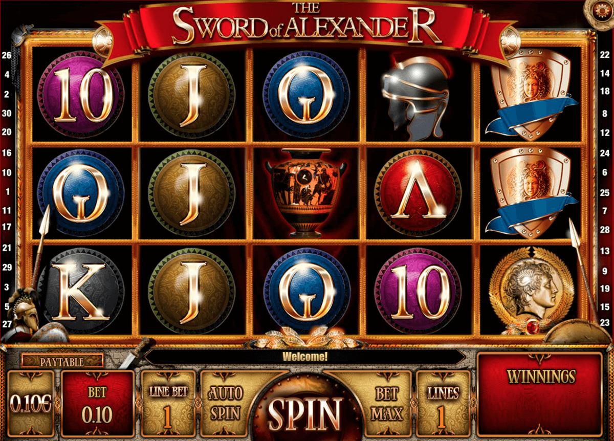 The Sword of Alexander™ Slot Machine Game to Play Free in iSoftBets Online Casinos