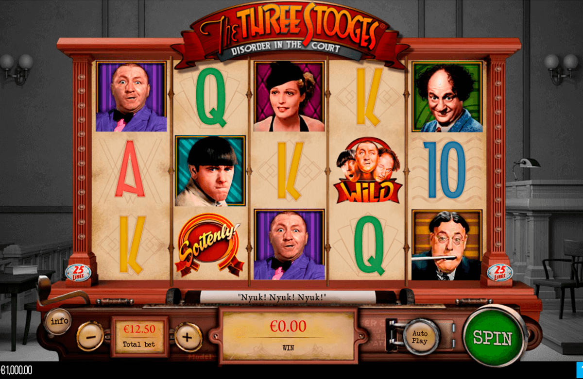 THE THREE STOOGES PARIPLAY SLOT MACHINE