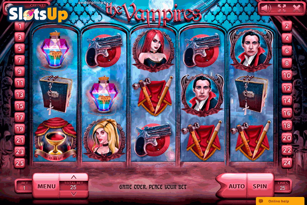 Vampire™ Slot Machine Game to Play Free in Cybertechs Online Casinos