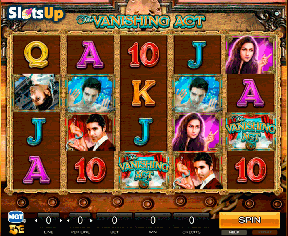 the vanishing act high5 casino slots