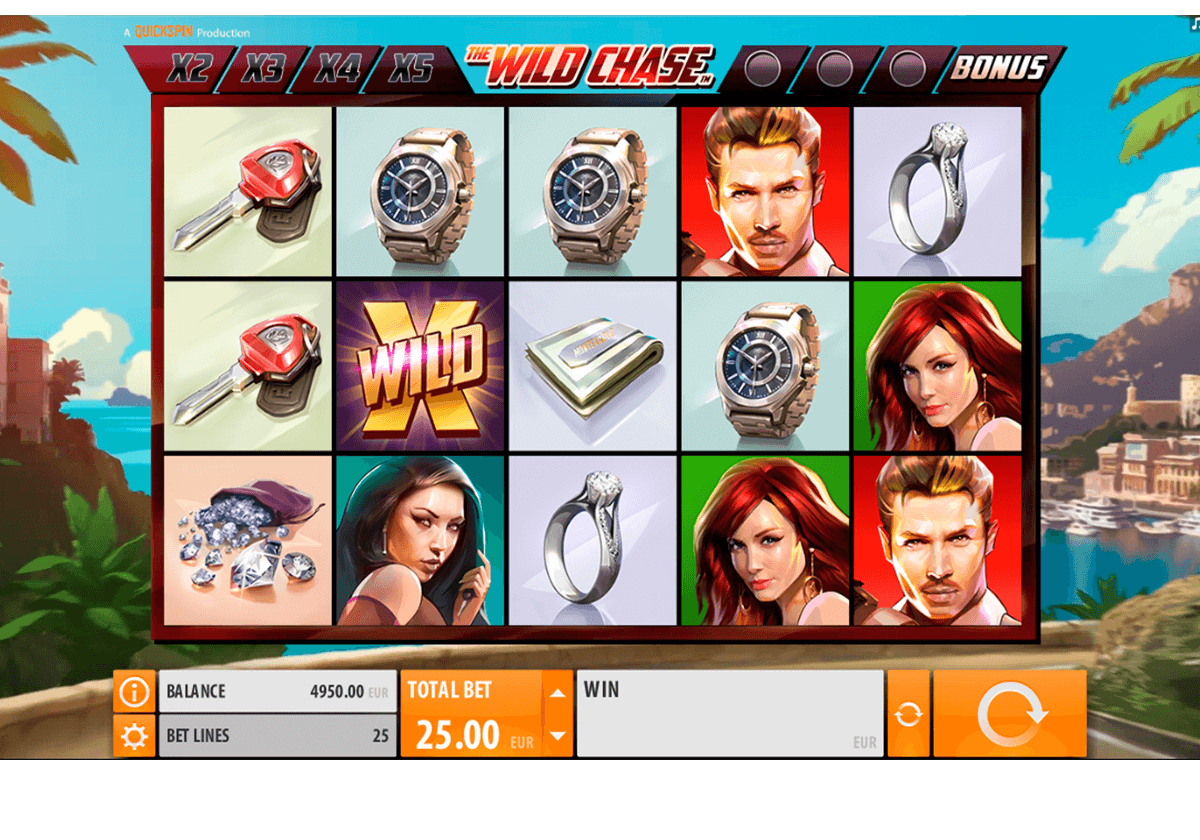 THE WILD CHASE QUICKSPIN CASINO SLOTS