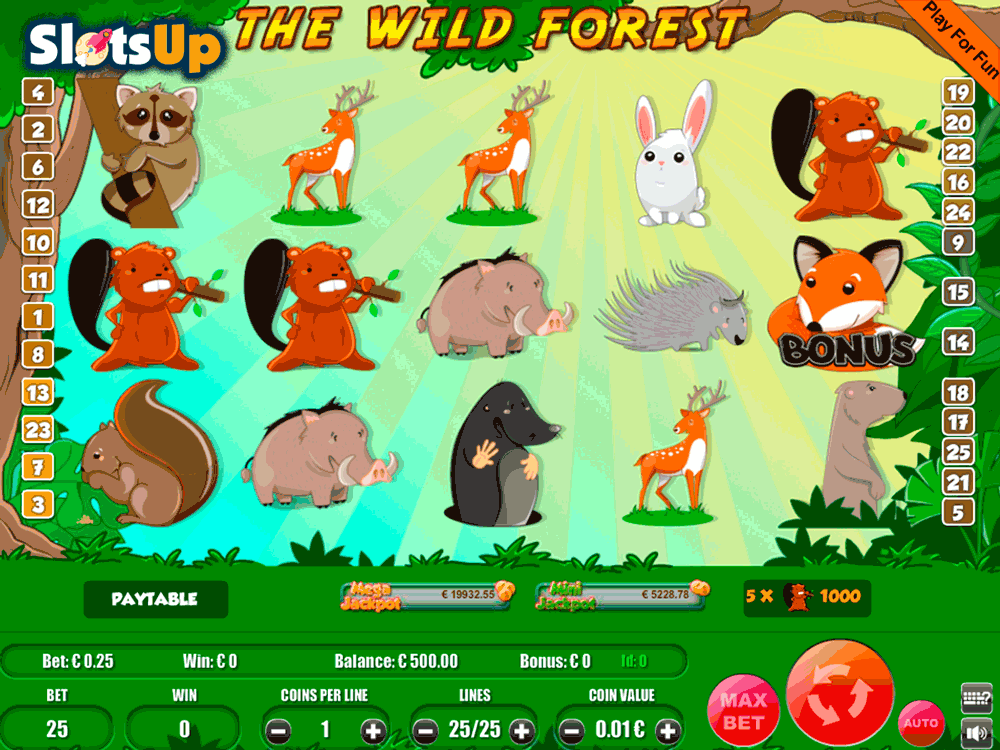the wild forest portomaso casino slots